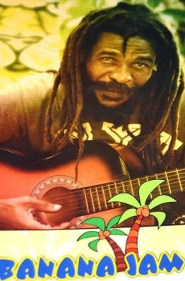 Banana Jam bied 'n reggae-tema met verskeie tapbiere om uit te kies