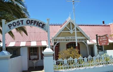 Die Ou Poskantoor is een van die pragtige geboue in Matjie