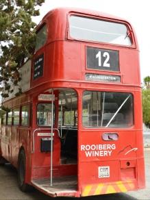 Die nommer-12-bus in Matjiesfontein