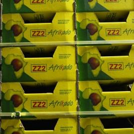 Afrikado-avokado dui op slim woordspeling van ZZ2