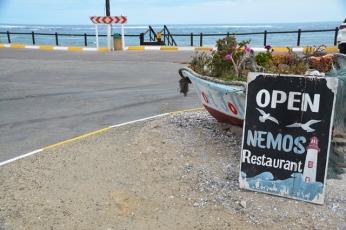 By Nemos in Port Nolloth is jy net 'n straat weg van die oseaan