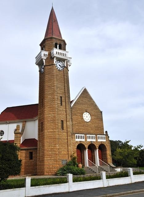 Die pragtige NG Kerk is Stanford se trots