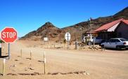 Een van die kleinste en mees informele grensposte wat jy dalk ooit by sal uitkom