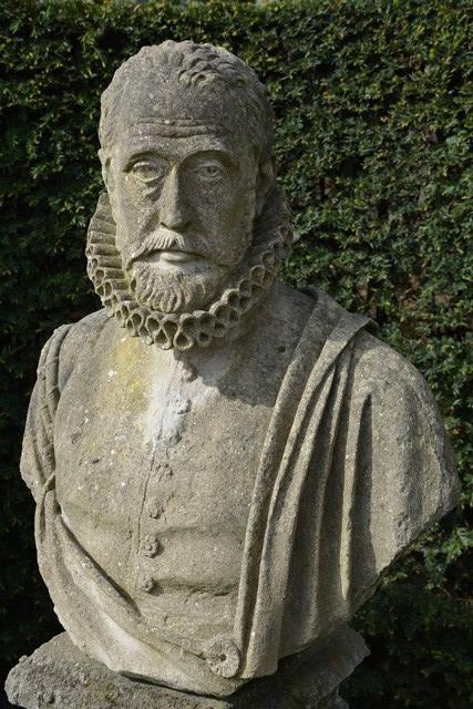 'n Borsbeeld van Carolus Clusius, een van die mees gerespekteerde botanici wat die wereld nog opgelewer het