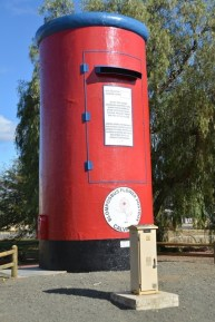 The most photographed place in Calvinia is the Flower Postbox